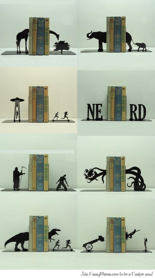Found Some Awesome Bookends