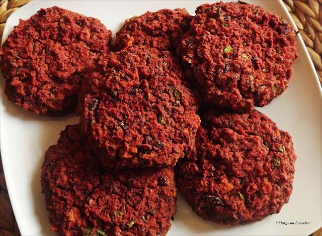 Cantinho Vegetariano da Margusta: Hamburguers  de Feijão Vermelho e Tofu.
