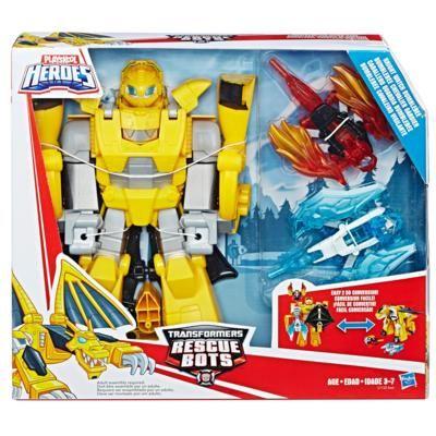Playskool Heroes Transformers Rescue Bots Knight Watch Bumblebee