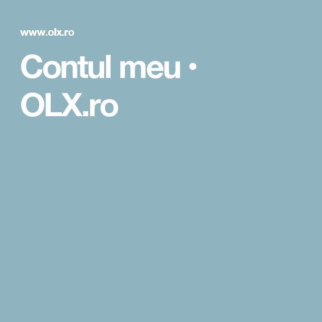 Contul meu • OLX.ro