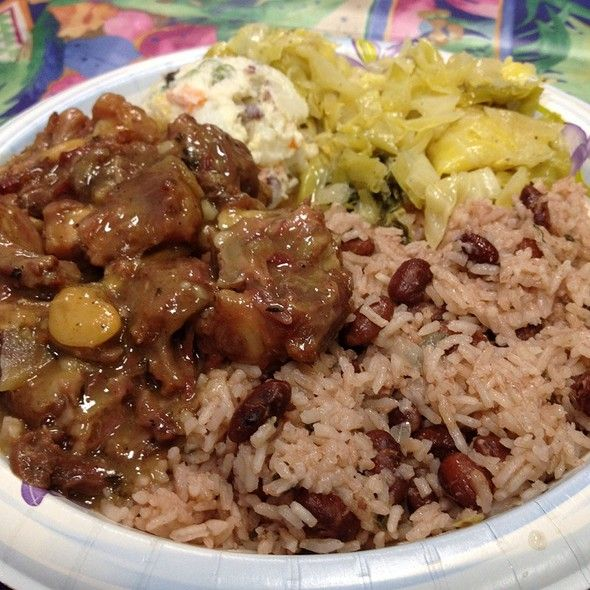 Jamaican Ox Tails and Rice Recipes | Mama Jamaica Cafe Menu - San Diego, Ca - Foodspotting