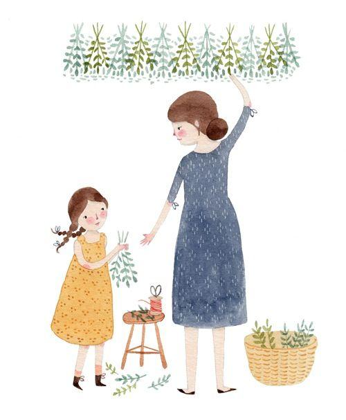 Herb Drying | Julianna Swaney