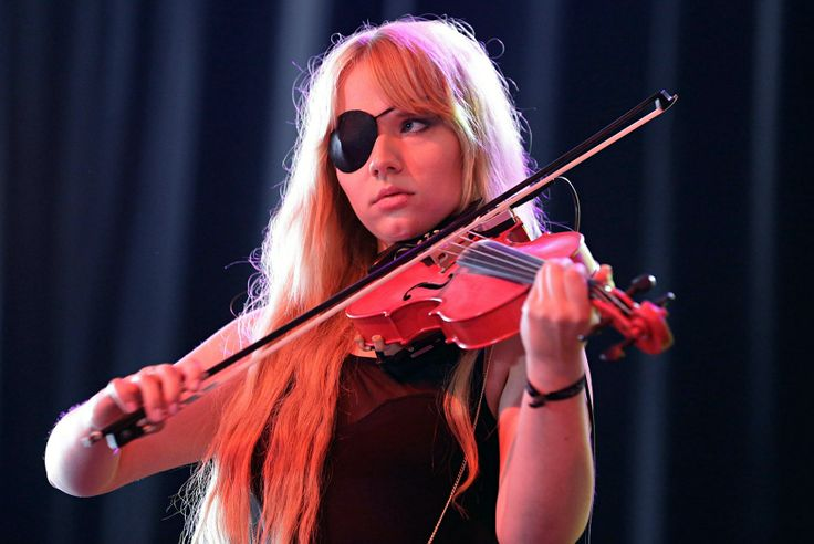 Scarlett - Eklipse - the eyepatch one | Violin fiddle ...
