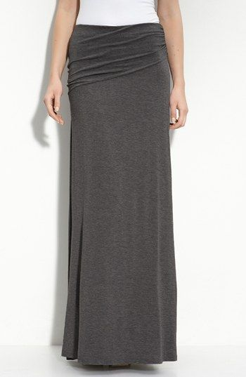 bobeau asymmetric knit maxi skirt regular