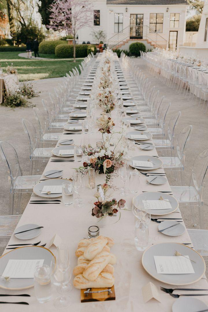 Neutral Wedding Inspiration Minimalist Chic Ghost Chairs Modern Wedding I Minimalist Wedding Decor Neutral Wedding Inspiration Modern Wedding Inspiration