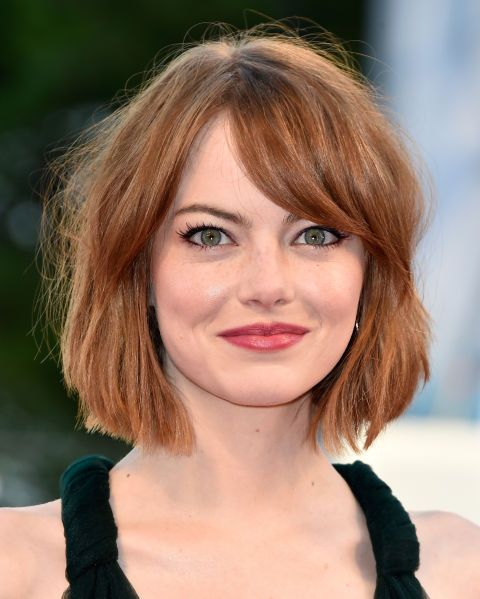 The red carpet tousled bob of our dreams, this is the way to work a fringe with a bob people.