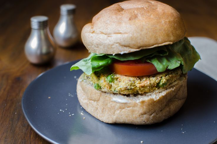 Checkout this recipe for Spicy Veggie Burgers I found on BobsRedMill.com