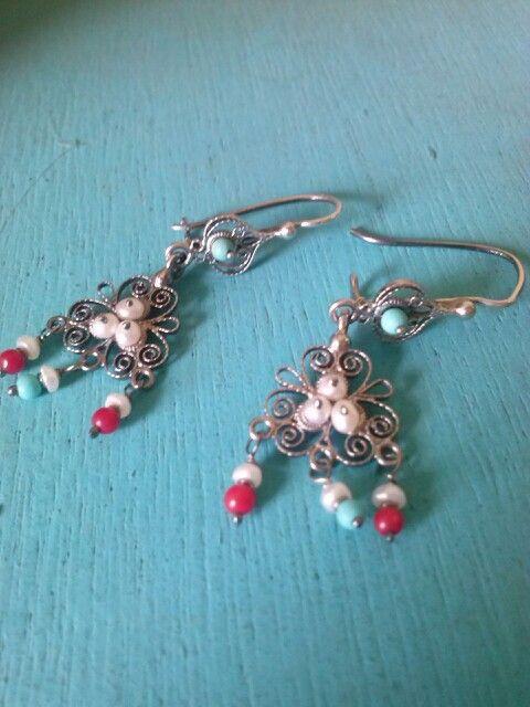 Tuquesa, coral y perla