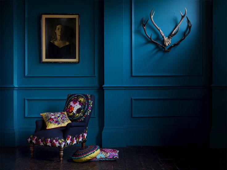 The 25 best dark blue walls ideas on pinterest dark - Marks and spencer living room ideas ...