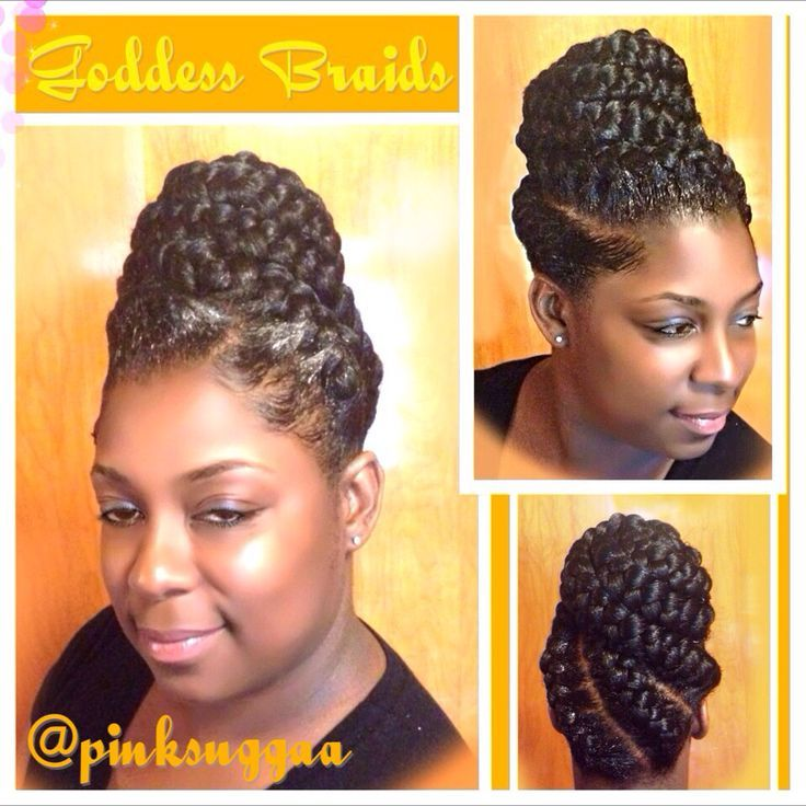New Pin Up Braids Hairstyles