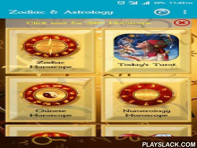 Zodiac & Astrology  Android App - playslack.com ,  Please update the app to get all the features.Update date 17th March 2016Added Sign ProfilesLatest Android M user interfaceRevamped UiAdded 2016 HoroscopeZodiac readingFace Reading Daily,Weekly,Monthly and Yearly HoroscopesChinese HoroscopeNumerologyBirth Day HoroscopeTarot Card readingPalm readingLove comparison1) Sign ProfilesWhen you are in love or when the relationship in question is a love relationship, one factor that should be…