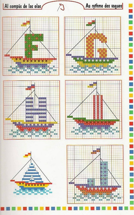 Alphabet bateau 2