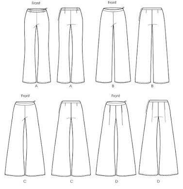 Αποτέλεσμα εικόνας για palazzo pants patterns free