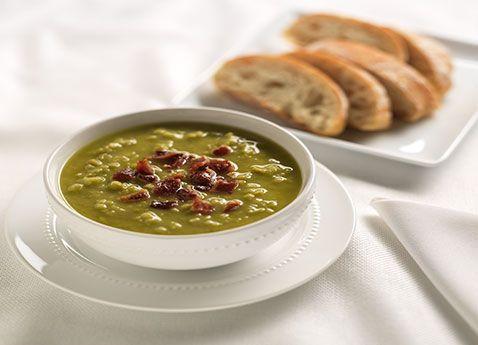 Dutch Split Pea Soup ~ *My Notes: Best recipe for split pea soup I have tried so far. Has great flavor.
