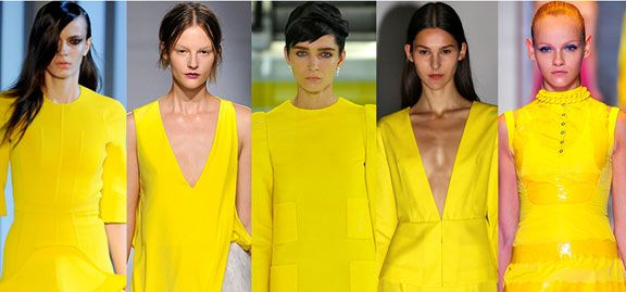 Women's Color Spring 2014 | the MAGIC Marketplace | Canary Yellow - Make a major statement with these sun shades.