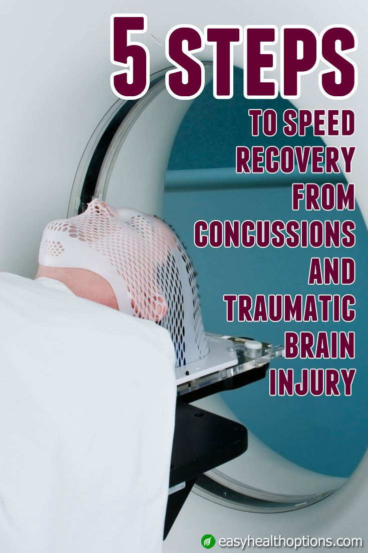 Your brain needs the right tools to repair itself. Here are the top 5 things you can do to speed recovery following a concussion or traumatic brain injury.