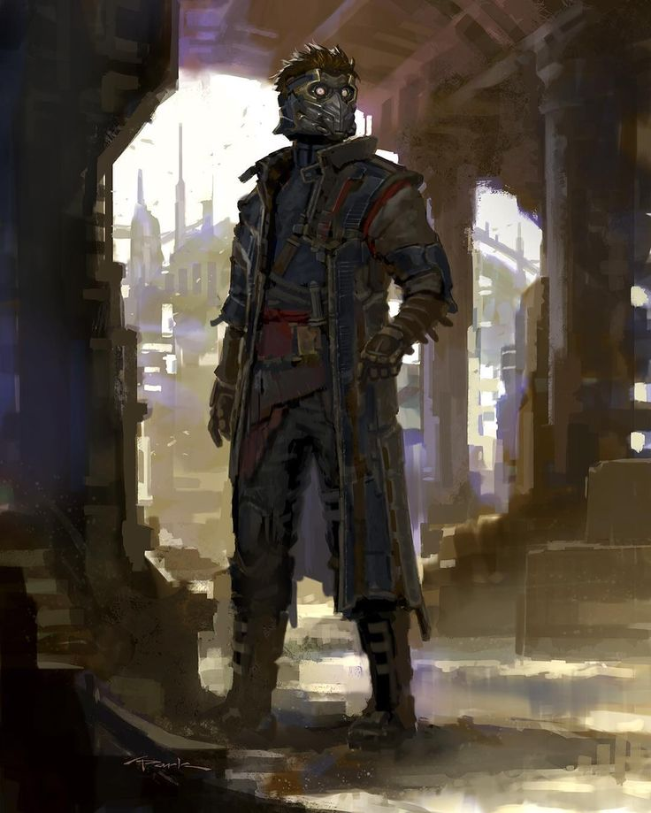 Cool Alternate Designs for Star-Lord and Nova Corps in GUARDIANS OF THE GALAXY — GeekTyrant
