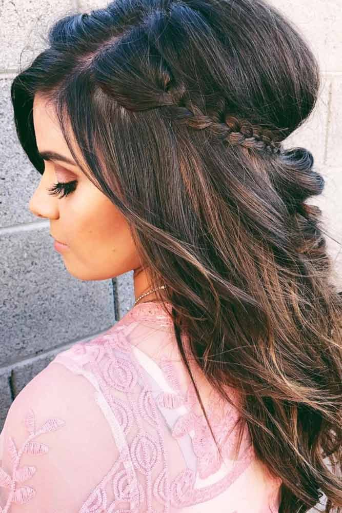 Style your long Rapunzel hair with our elegant side braid ideas. Here you will find inspiration for your next braid, including crown and French braids.
