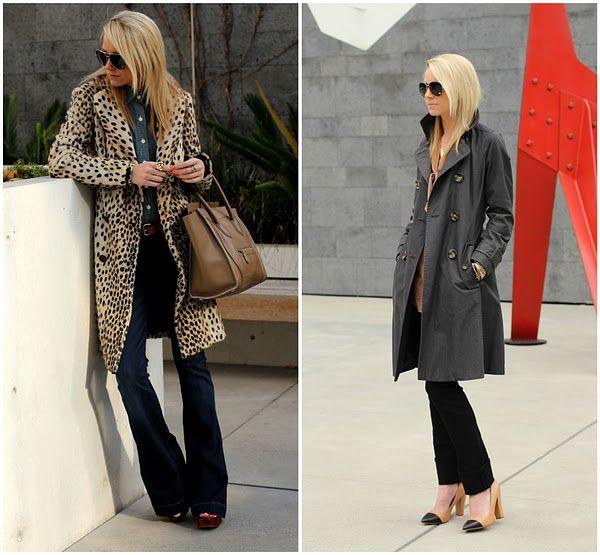 Rockin a trenchcoat: Grey Coats, Cute Coats, Leopards Coats, Atlantic Pacific, Chic Outfits, Denim Style, Leopards Prints, Animal Prints, Trench Coats