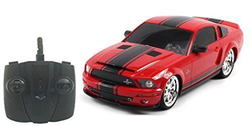 New Mustang GT500 Super Snake Electric Powered RC Toy Cars, 1:18 Licensed Shelby #WorldTechToys