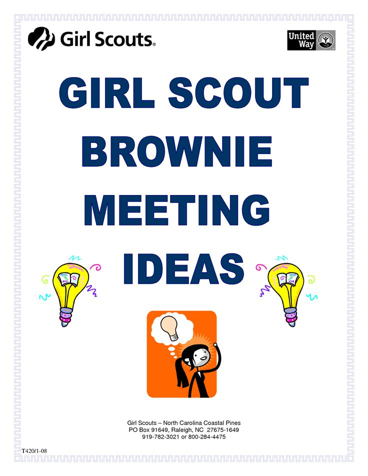 brownie meeting Brownies meeting schedule below are two sets of brownie plans first are are the plans from my brownie unit these plans begin in september 2010.