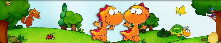 Hocus and Lotus, the little dinocrocs that teach languages to children. The psycholinguistic model to acquire a new language, for kids from 1 to 11!