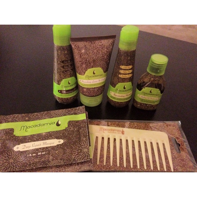 Macadamia hair products - The best stuff for your hair.  Truly.
