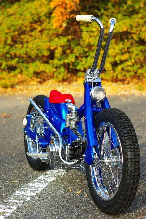 Honda Super Cub By Monkey Custom Japan Moped