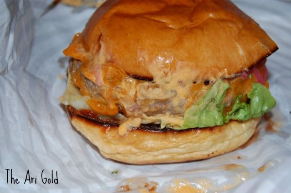The Ari Gold Burger from Patty & Bun in London Restaurants - 10 Dishes you Have to Try