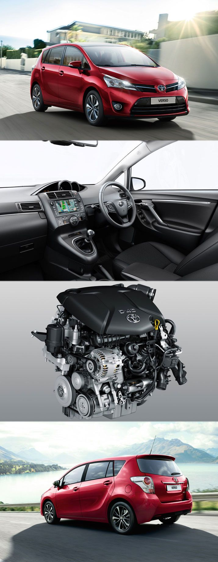 Verso is an impressive seven seater by toyota toyotaverso engines euroncap read full
