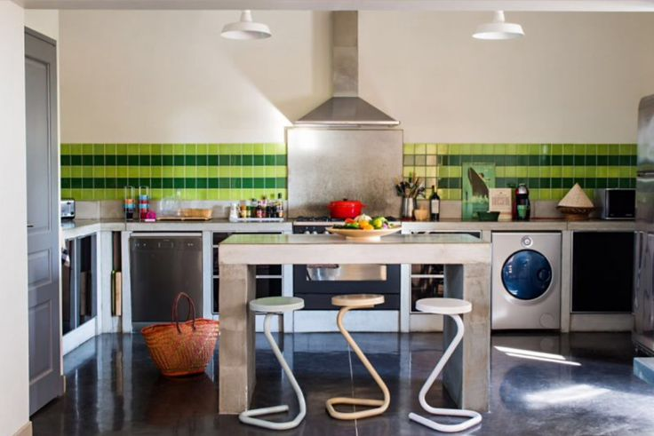 "This kitchen is from our feature ""Sunshine Escape"""