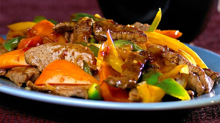 Thai Chili Beef and Bell Pepper Stir-fry