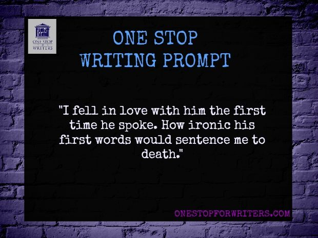 One stop for writers Dark Writing Pormpt! Okay, I really like this idea.
