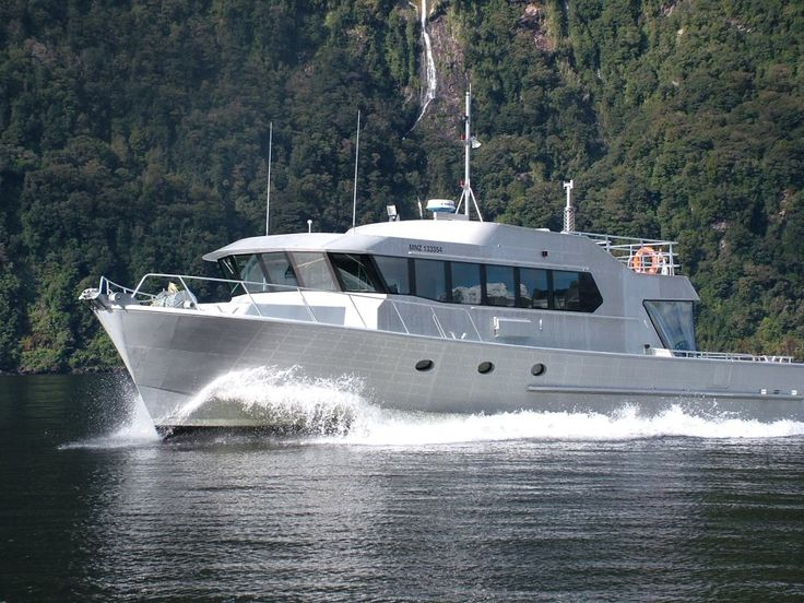 Deep Cove Charter's Doubtful Sound Overnight Cruise Boat - SEAFINN