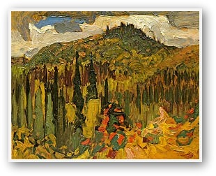 J.E.H. MacDonald  Algoma Forest