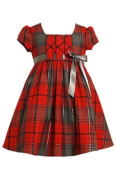 Bonnie Jean® Plaid Dress Toddler Girls #belk #kids #patterns