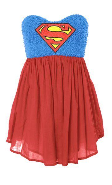 Superman dress  @Laiken Blair Blair Blair Olivier