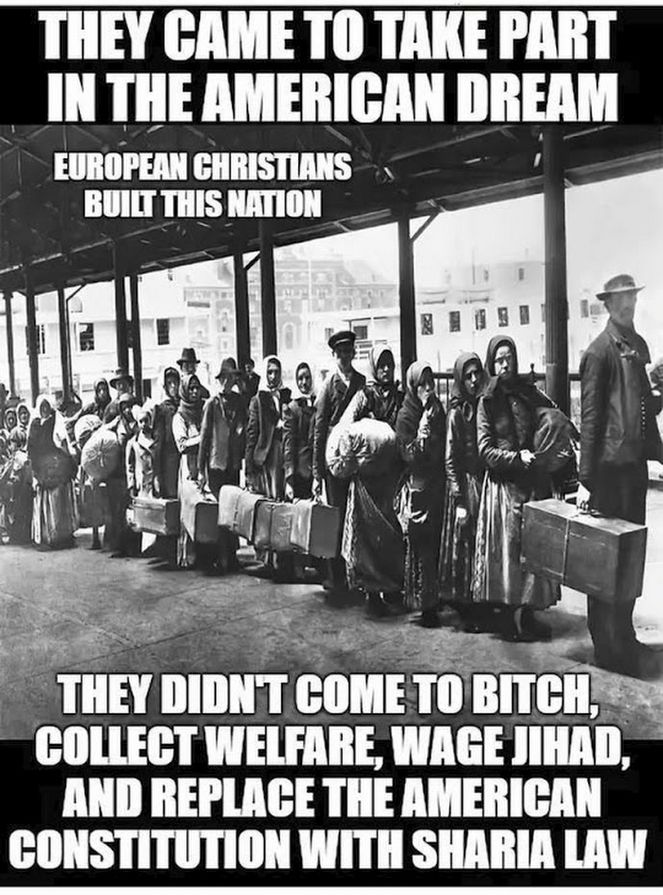 FAKE: The above. FACT: Nonsense. First generation immigrants have always been the same, people trying to survive and build better lives for their children. By the second generation, their children speak mostly English, adopt local customs, and blend with those who came here before. And EVERY one has initially faced xenophobia from small-minded Americans who feared anything different from themselves.