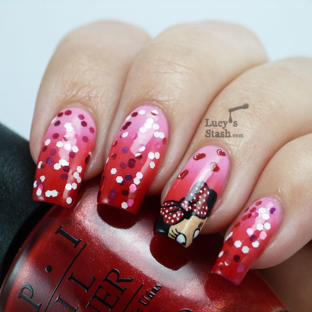 30 Summer Nail Ideas - 100 Best Minnie Mouse Nails Images On Pinterest Beautiful, Minnie
