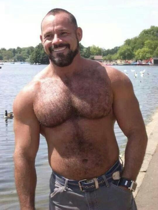 Hairy Hard Muscle Bears