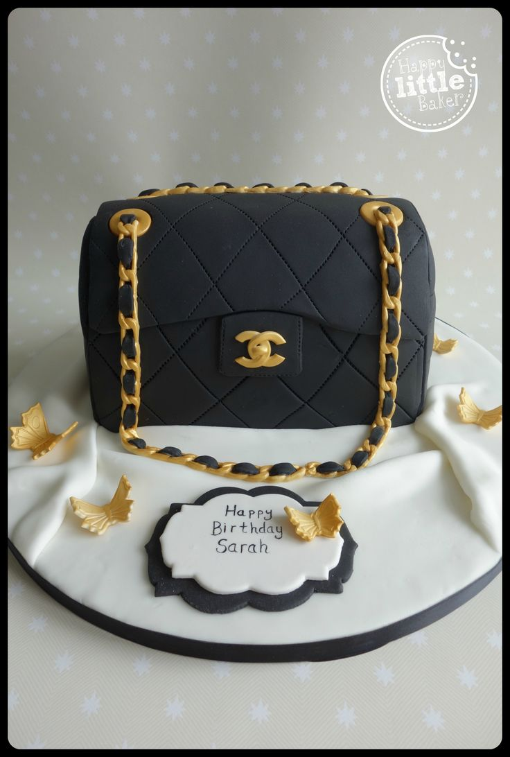 Handbag Design Birthday Cake : The 231 best images about Cupcakes and Cakes Made By The ...