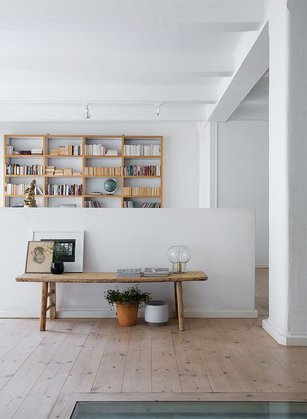 open space like a New York loft | (my) unfinished home