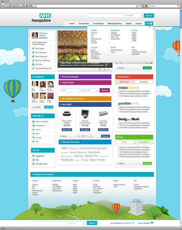 modern intranet design intranet pinterest