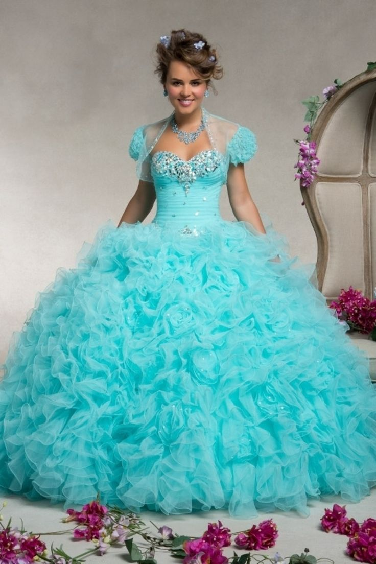 Buy 2013 Quinceanera Dresses Ball Gown Sweetheart Floor Length Applique Beading Sequins Organza On line