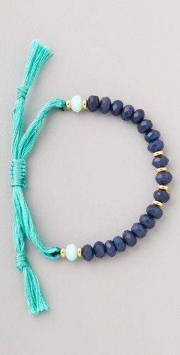 Shashi Rachel - Bracelet en perles semi-précieuses. Belle harmonie
