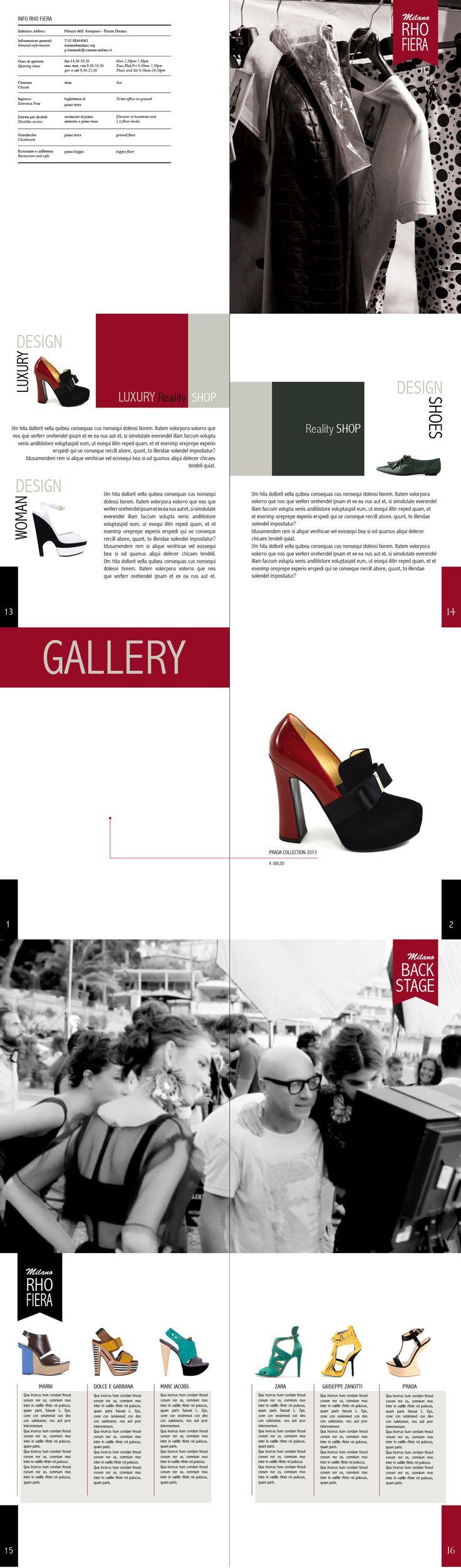 Catalogo di scarpe