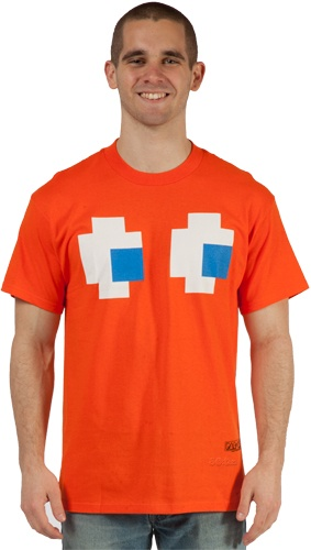 Pac Man tee! This would be interesting to see in women's style, though... xD