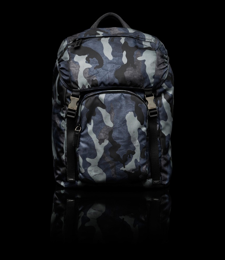 Prada Camo Backpack (Sold Out)