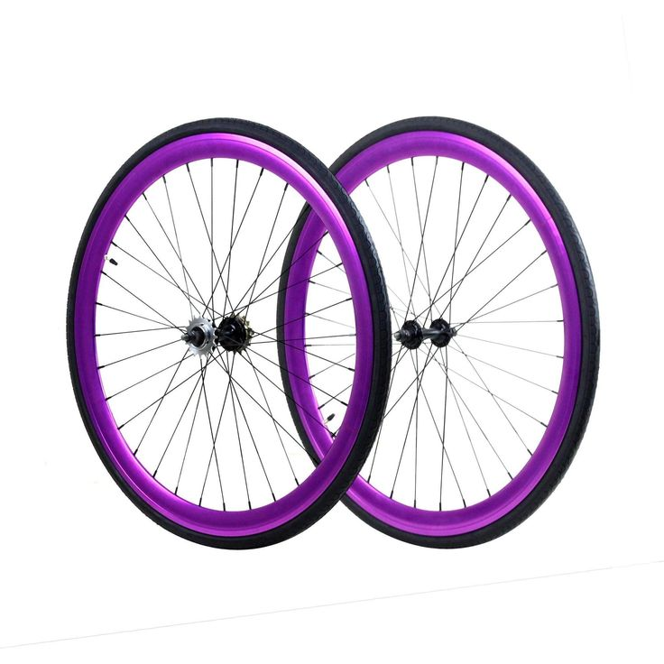 ZF Bikes 45mm Anodized Fixed Gear Wheelset