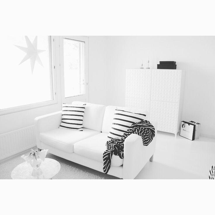White livingroom | my home